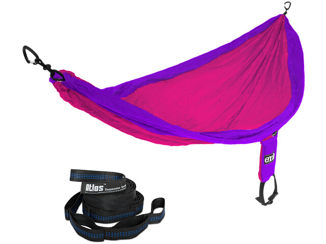 ENO Single Nest Amaca Set, purple fuchsia